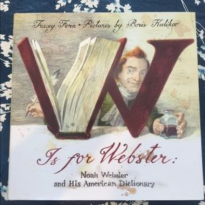 Other - W is for Webster Book